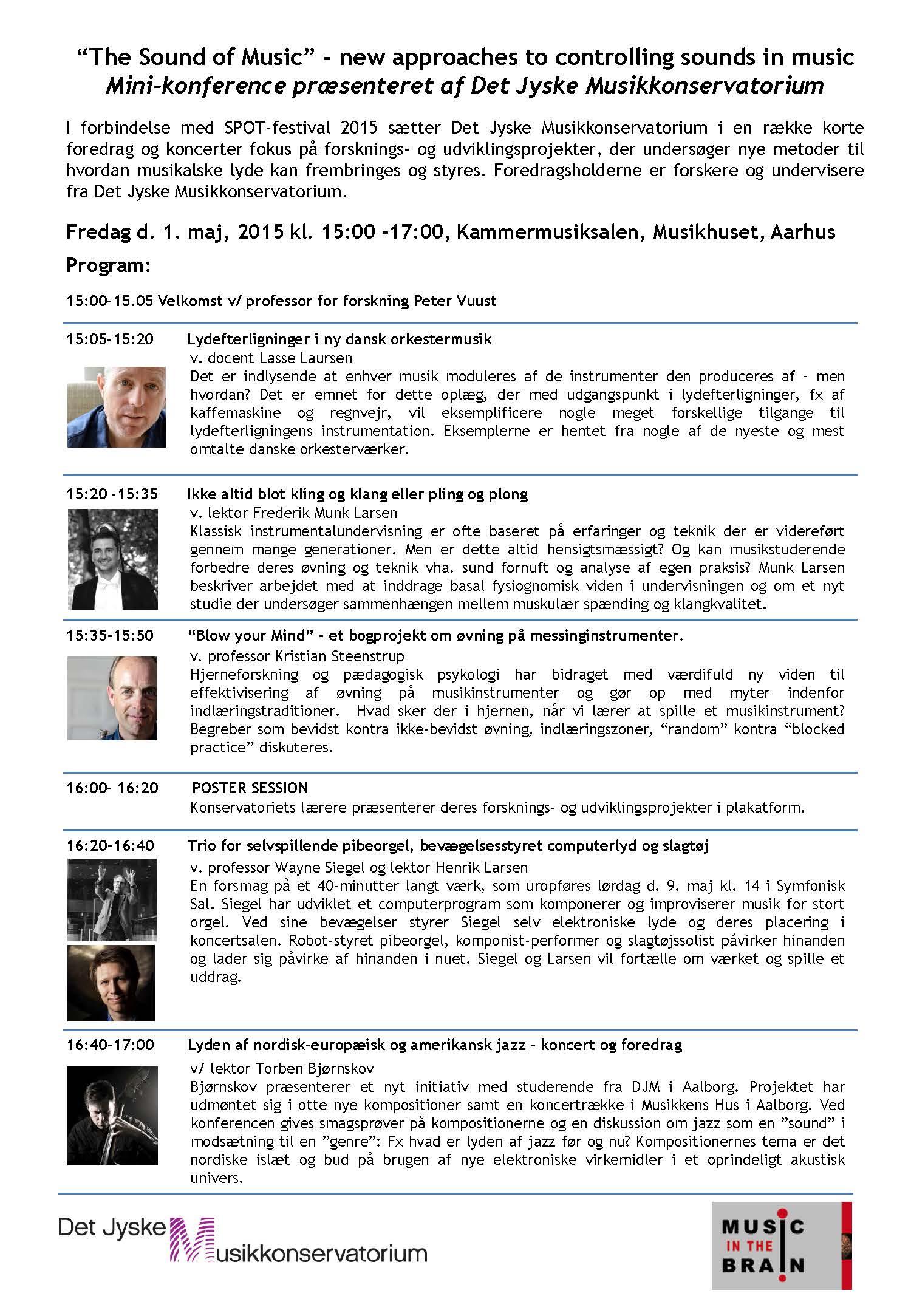 MINI konference 2015 Poster